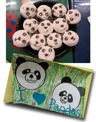 Hensley's 7th Birthday for the Pandas