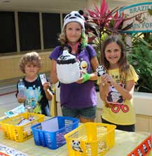 Sanderlin Kids Raise Pennies for Pandas