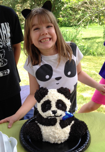 Leah panda party