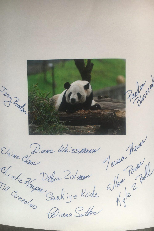 Tai Shan birthday card side 2