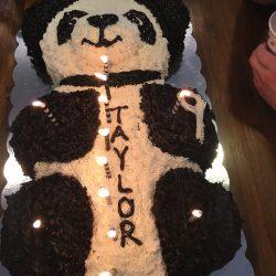 taylor panda cake